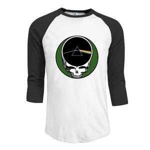 For Men Pink Floyd London 1972 3/4 Sleeve\r\n Raglan Shirts Printed T Shirts