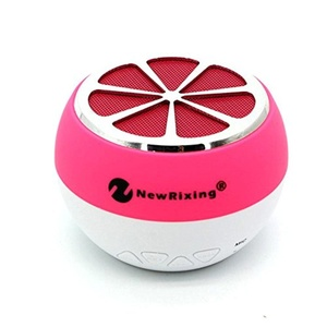 Bren SL NR-1012 Wireless Bluetooth Speaker Loudspeaker Support USB/AUX/TF Card/Memory Card for Ipod/MP3 Player/Audio Player/Mobile Phone/Computer Pink