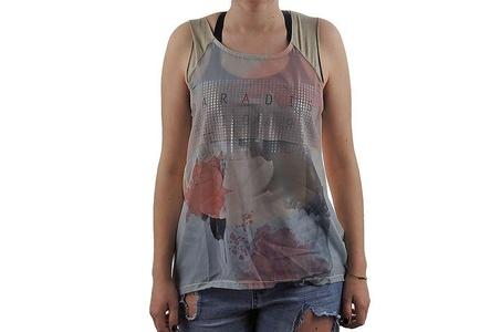 Only Zoe Canotta Rasata T-shirt New Size S Ladies.