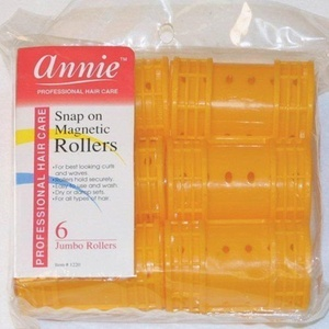NEWHair Rollers PROFESSIONAL SNAP ON MAGNETIC (JUMBO) All Sizes - Set Hair Dry or damp by Annie