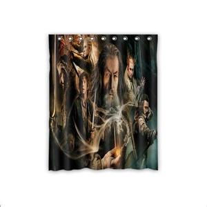 Cartoon The Hobbit Blackout Room Darkening Curtains Window Panel Drapes,52 Inch x 63 Inch