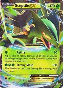 Pokemon Sceptile EX # XY53 Foil Holo Promo Card XY 53 by Pokemon Center