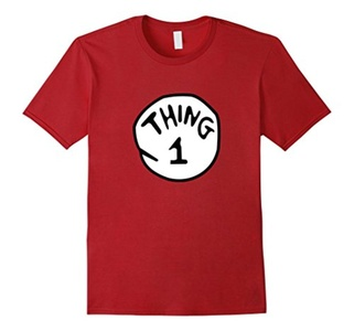 Men's Thing--1--2 T-shirt Medium Cranberry