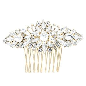 PROHAIR Crystals Rhinestone Hair Comb Women Hairpins Bridal Wedding Hair Accessories Pageant Headpiece