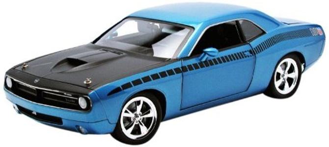 Highway61 1:18 Plymouth CUDA Concept HEMI 2011 blau, 50826 by Highway 61