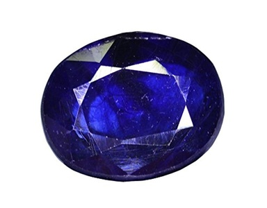 Gemstone Natural Top Quality Certified 3.50 Carat Blue Sapphire (Pukhraj) Gemstone