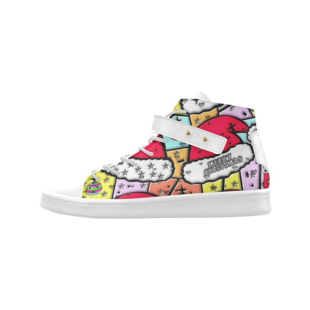 Shoes No.1 Women's Sneakers Lyra Round Toe High-top Shoes Hohoho Christmas Popart By Nico Bielow For Outdoor