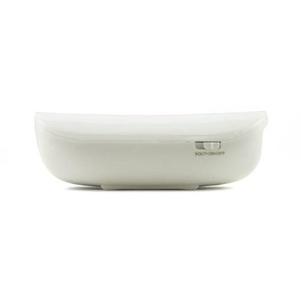 iKANOO BT014 Power Bank Wireless Bluetooth Portable Speaker w/ Microphone (White)