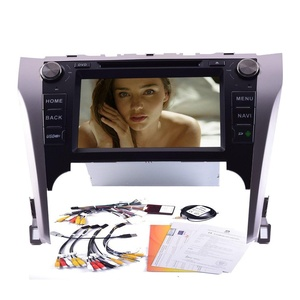 Canbus + Android 4.4 Quad Core Car DVD Player GPS Navigation bluetooth support WIFI Mirror Link Airplay 8 Inch Car Stereo Special for Toyota Camry£¨2012-2014)