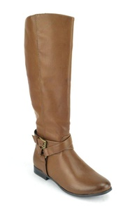 Mia Kinley Women's Tan Knee-High Boots US9