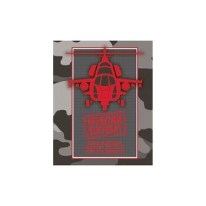 Operation Camo Party Invitations and Envelopes Pack of 8 by Party Stuff 4U Operation Camo party