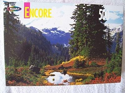 Mount Baker (Koma Kulshan), Washington 500 Piece Puzzle by Encore