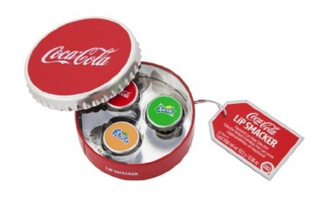 Lip Smacker Round Box 3 Lip Glosses Coca Cola by Lip Smacker