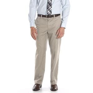 Apt. 9 Modern-Fit Performance Stretch Chino Flat-Front Pants Size 38x34