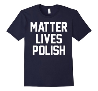 Men's Matter Lives Polish T Shirt XL Navy