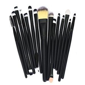 Ikevan® 15pcs Makeup Brush Set tools Make-up Toiletry Kit Wool Make Up Brush Set (Style 17)