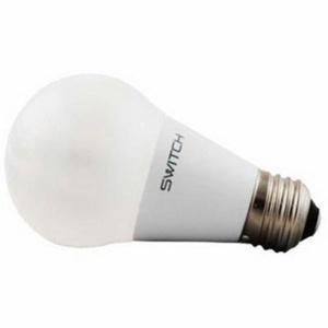 Switch LED Lamp, 10 watt, 120 volt, A19, 800 lumens, 83 CRI, 2700 K