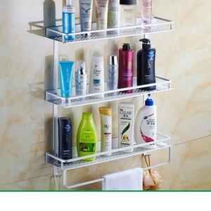 Space aluminum bathroom racks/Kitchen hardware accessories/Bathroom racks-L