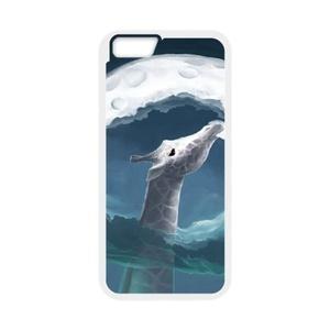 iPhone 7 Case,WXCVBN Rugged Black Cute Giraffe Print Cover Case Skin for iPhone 7 (4.7 inch)