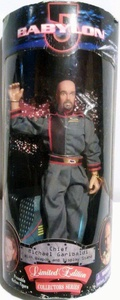 Babylon 5 Chief Michael Garibaldi 9 Limited Edition Action Figure by Exclusive Toy Products