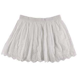 Denim & Supply Ralph Lauren Womens Eyelet Mini A-Line Skirt White XS