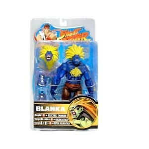Street Fighter Series 2 Blanka (Blue Variant) Action Figure by Street Fighter