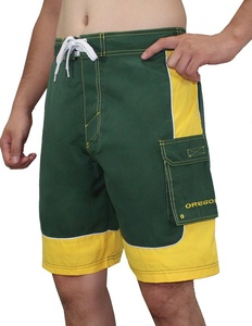 NCAA Mens Oregon Ducks Athletic Sports Shorts with Swim Lining M Green