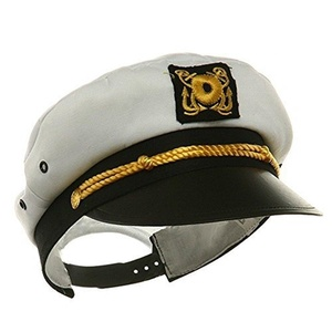 Child Yacht Captain Hat Ship Navy Officer Sea Skipper Cap Costume Accessory Adjustable by Jacobson Hat Company