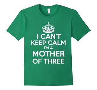 Men's I Can't Keep Calm I'm A Mother Of Three XL Kelly Green