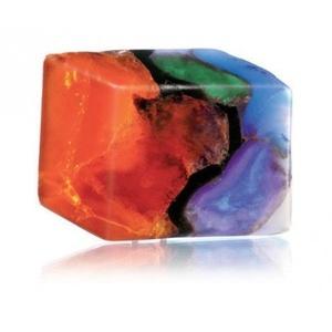 T.S. Pink TS Pink FireOpal SoapRocks - Soap that looks like a Rock ~ 6 oz. Gem Rocks Birthstone Jabón Gemstone