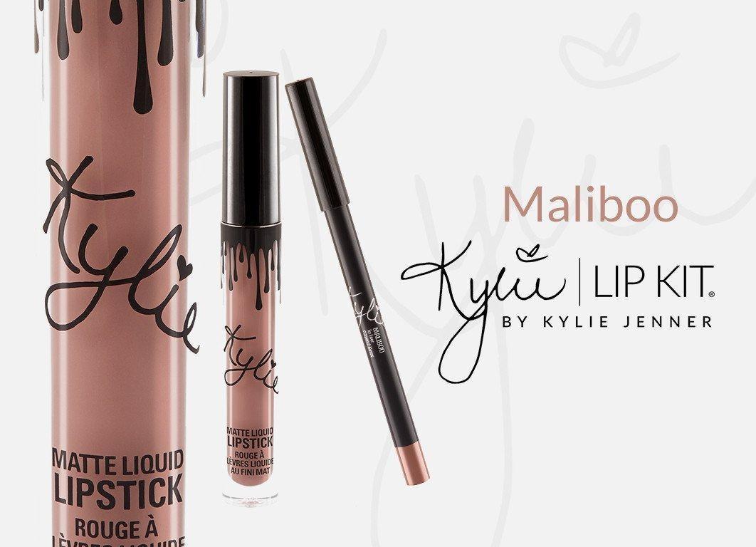 Kylie Jenner Lip Gloss Matte Maliboo Lipstick