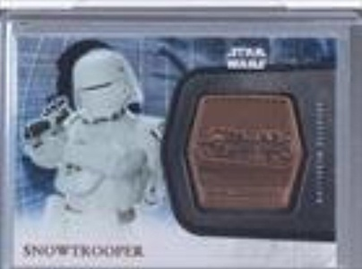Snowtrooper (Trading Card) 2016 Topps Star Wars: The Force Awakens Series 2 - Medallions - Bronze #20