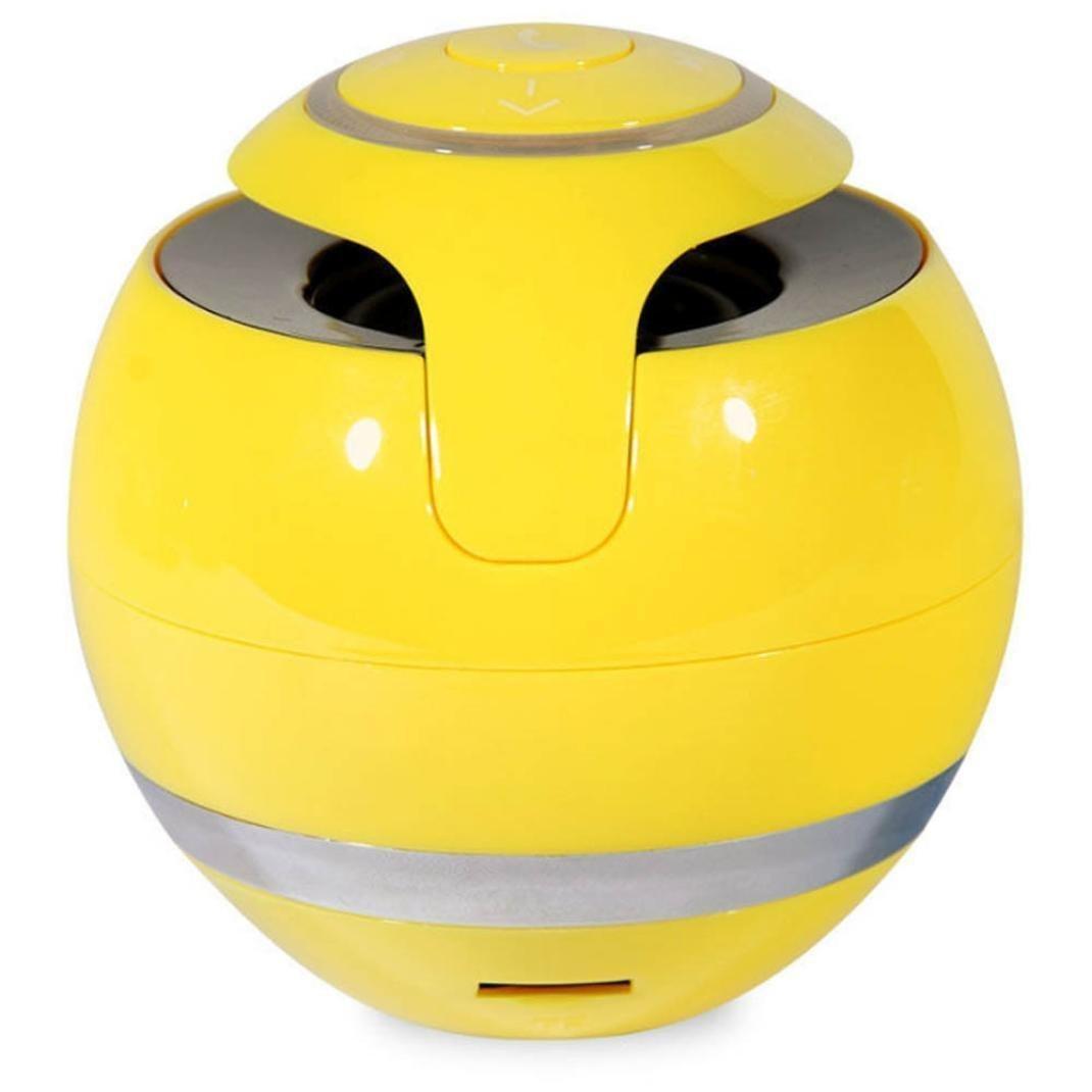Bluetooth Speaker, ZYooh Portable Super Bass Mini Bluetooth Wireless Speaker Wireless Speaker Wireless Bluetooth Speaker Stereo Speaker Yellow