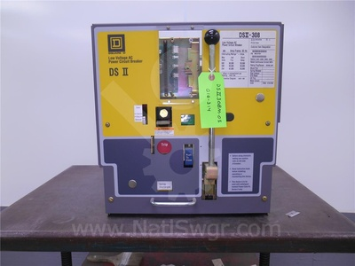 DSII-308 - 800A SQD DSII-308 MO/DO UNUSED SURPLUS