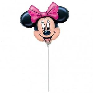 Minnie Mouse Head Mini Shape Balloon by M-D