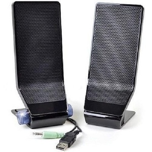 Acer MS1238US 2-Piece USB Powered PC Speaker Set w/3.5mm Jack (Black)--NEW