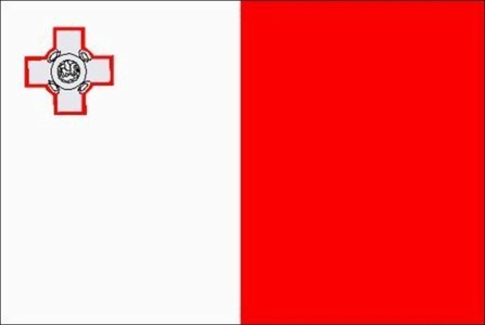 New Malta Flag Large 5ft x 3ft with 2 metal Eyelets by Flag Co