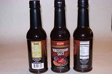 Blazin Blends Worcestershire Sauce 10oz (295mL) (Set of 3) by Blazin Blends Worcestershire Sauce