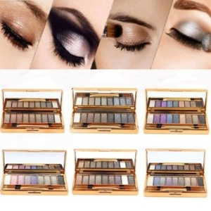 9 Colors Eye Makeup Dazzling Shimmer Eyeshadow Palette #5 by Completestore