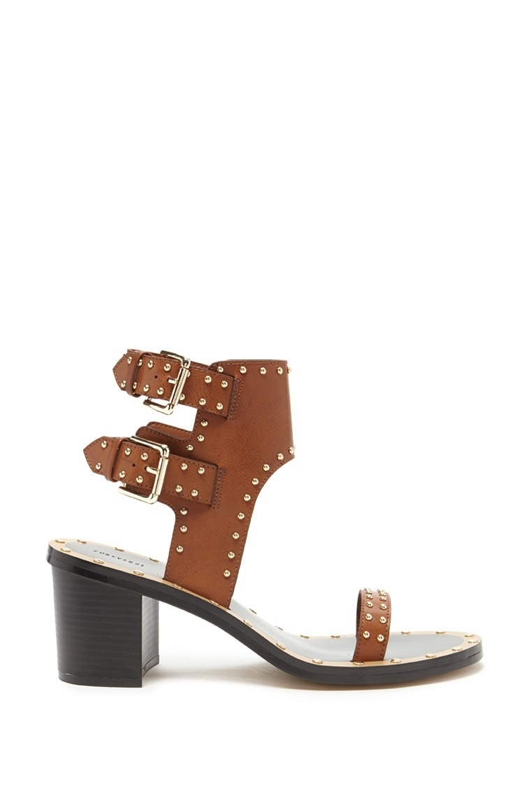 Chunky Studded Sandals