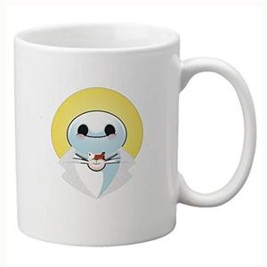 Baymax The Nightmare Before Christmas Mug 11oz Ceramic Coffee Mug (White)