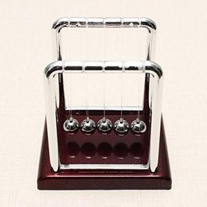 Small Size Newton's Cradle Steel Balance Ball Physics Pendulum by Small