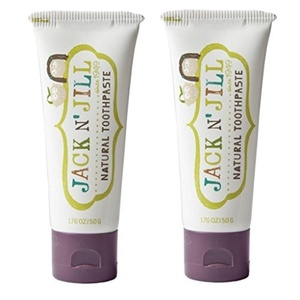 Jack N' Jill Natural Toothpaste, Blackcurrant, 1.76Oz (Pack Of 2) by JACK AND JILL KIDS