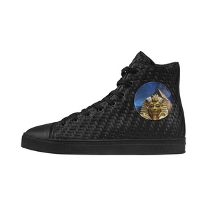Shoes No.1 Sneakers Fitness Woven Women's Shoes PU Leather King Tut And Pyramid For Outdoor