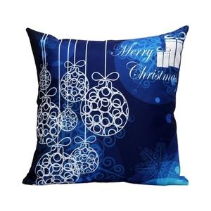 Iuhan Fashion Christmas Pillow Case Sofa Waist Throw Cushion Cover Home Decor (F)