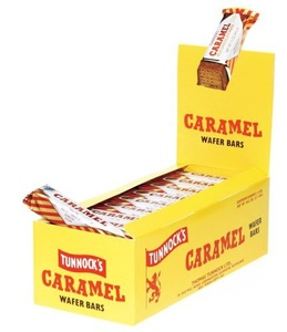 Tunnocks Chocolate Caramel Wafers, 1.19-Ounce Boxes (Pack of 36) by Tunnock's