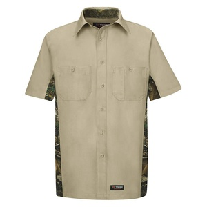 VF Corporation - WS40KCSSLXXL - Short Sleeve Shirt, Mens, Sz 2XL, Khaki