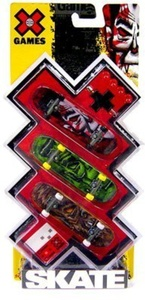 X Games 3 Pack Skateboard Set 2 by X Games