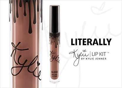 KYLIE COSMETICS BY KYLIE JENNER LIP GLOSS IN SHADE LITERALLY by Kylie