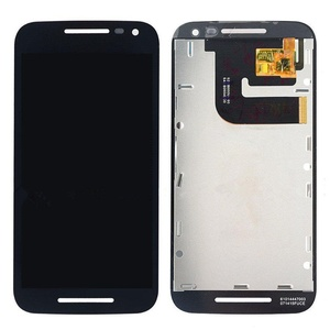 Black LCD Touch Screen Assembly For Motorola Moto G 3rd Gen 2015 XT1540 XT1541